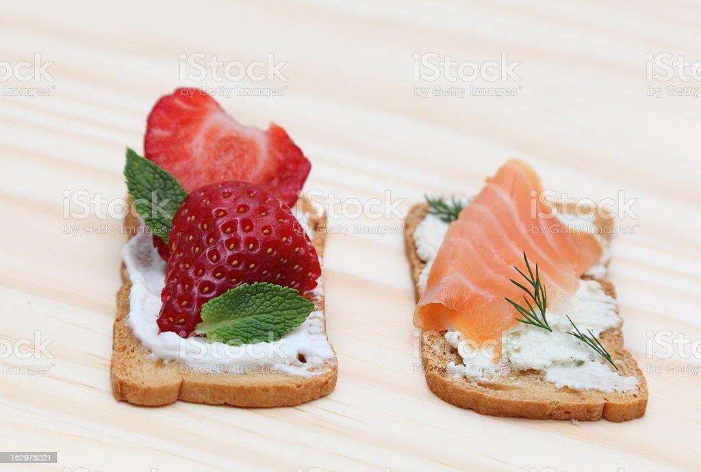 Tasty snacks royalty-free stock photo