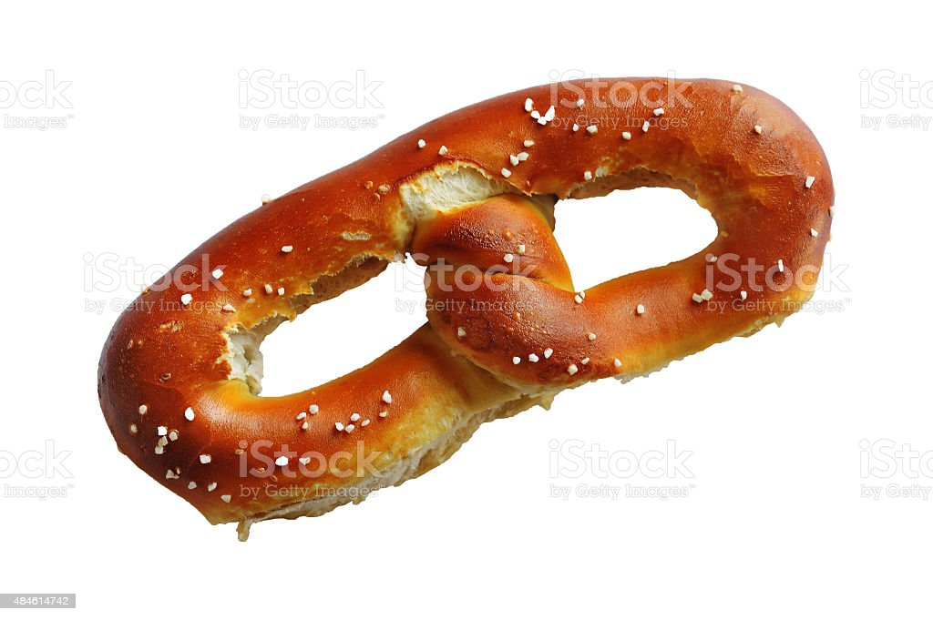 Tasty Soft Pretzel stock photo