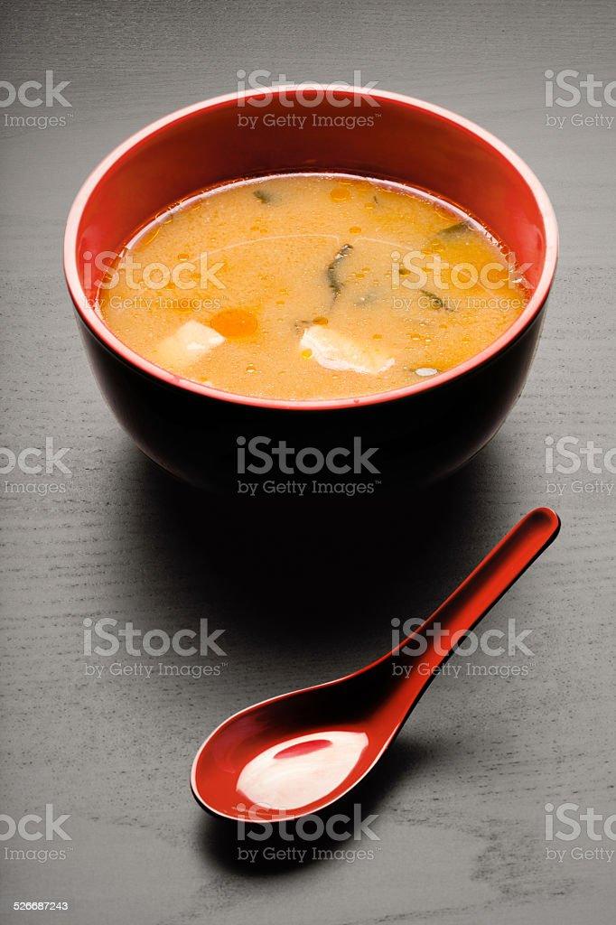 Tasty soup. stock photo
