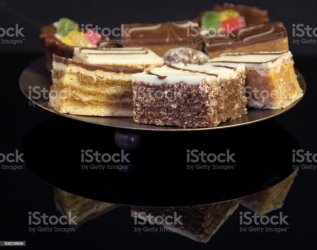 Tasty sweet dessert stock photo