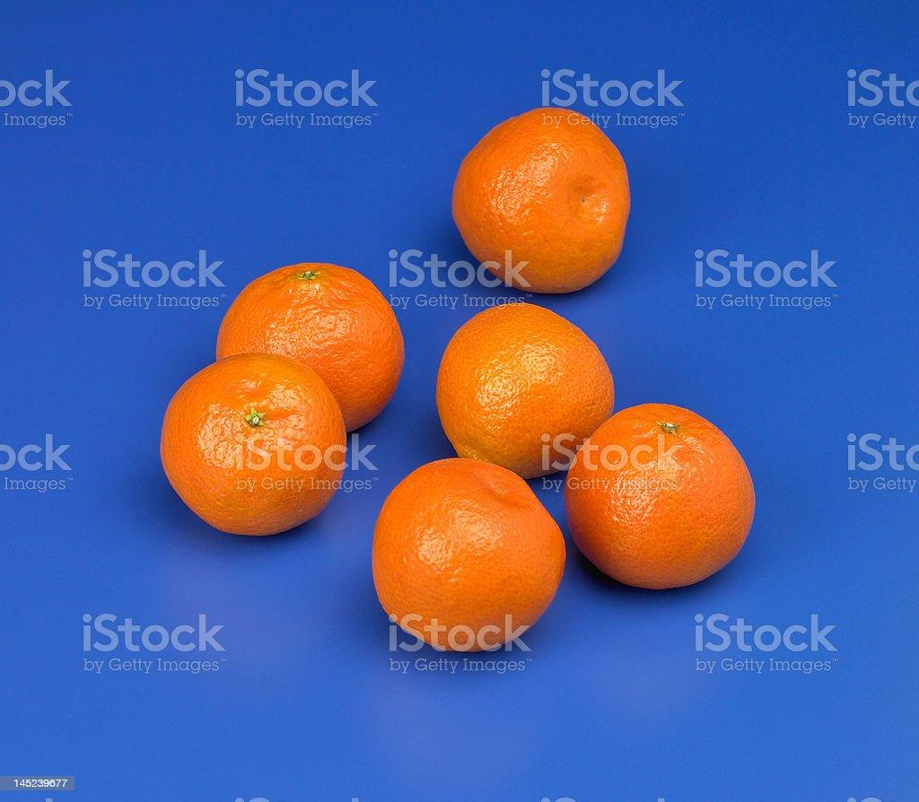 Tasty tangerines stock photo