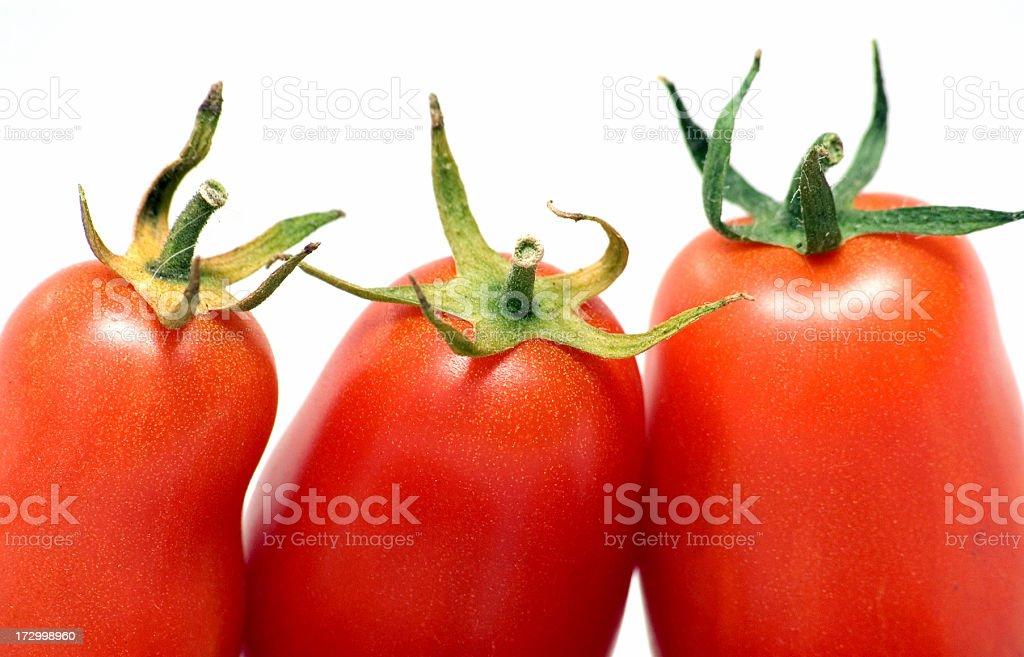 Tasty tomatos stock photo