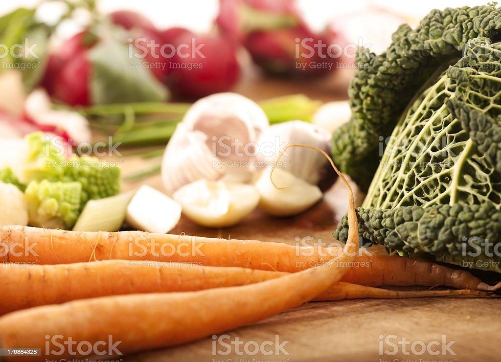 tasty vegatables stock photo