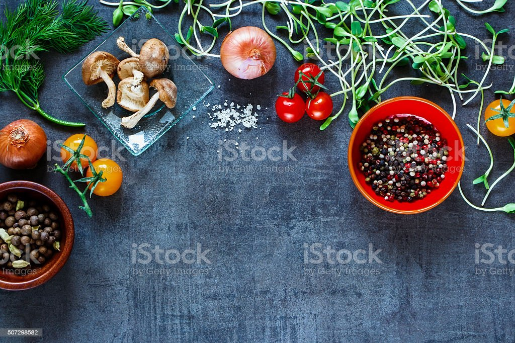 Tasty vegetables background royalty-free stock photo
