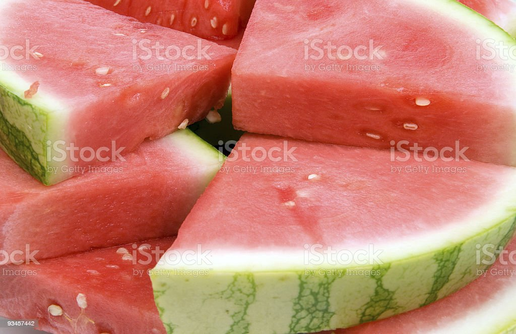 tasty watermelon royalty-free stock photo