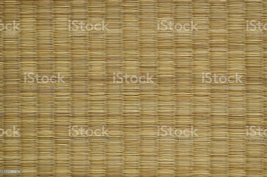 Tatami Mat royalty-free stock photo