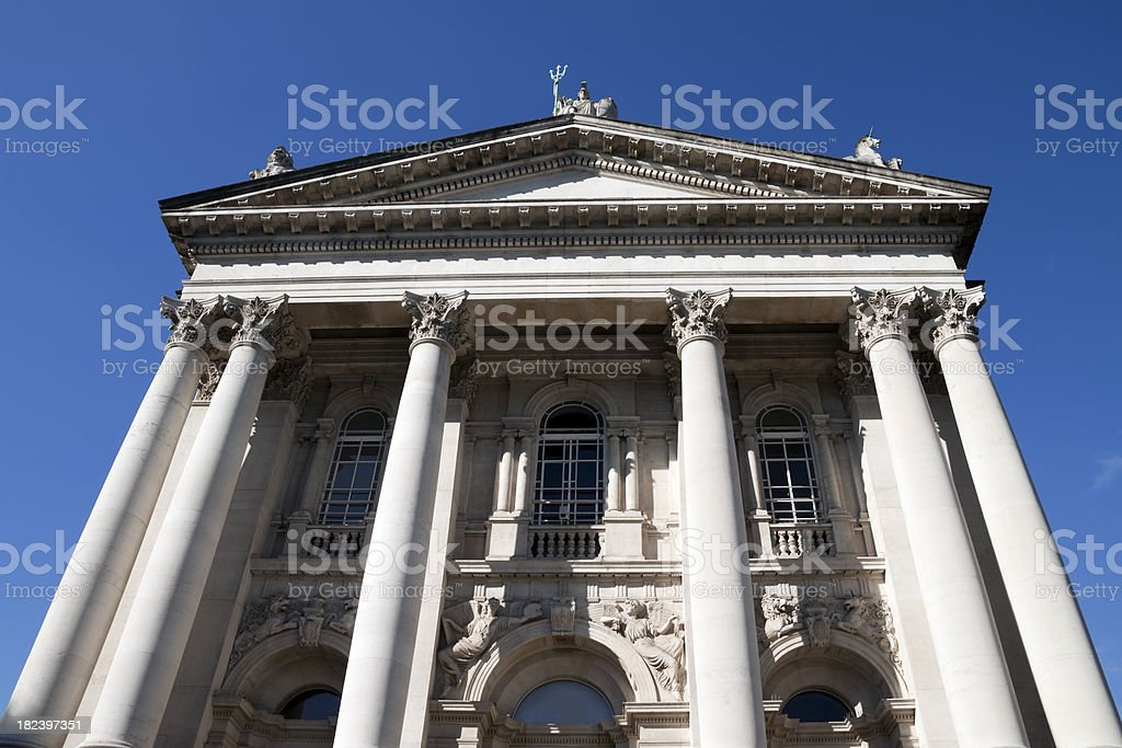 Tate Britain gallery facade stock photo