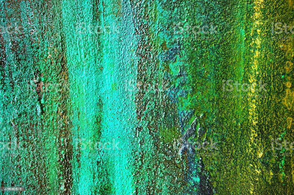 Tate Modern Abstract Graffiti Art Mural stock photo