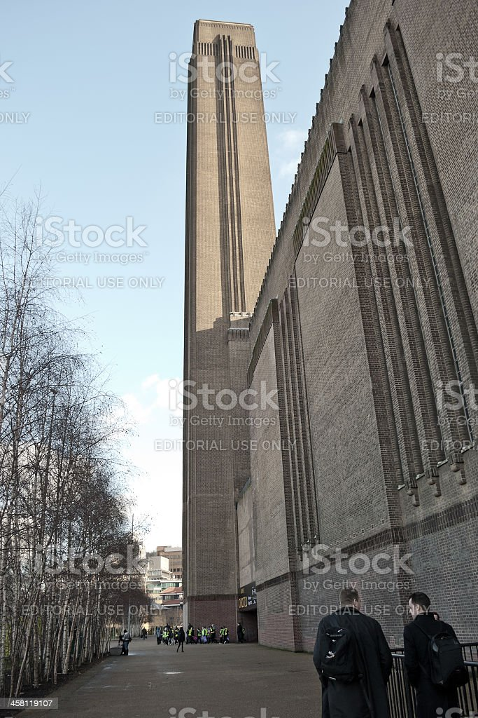 Tate Modern Art Gallery, London stock photo