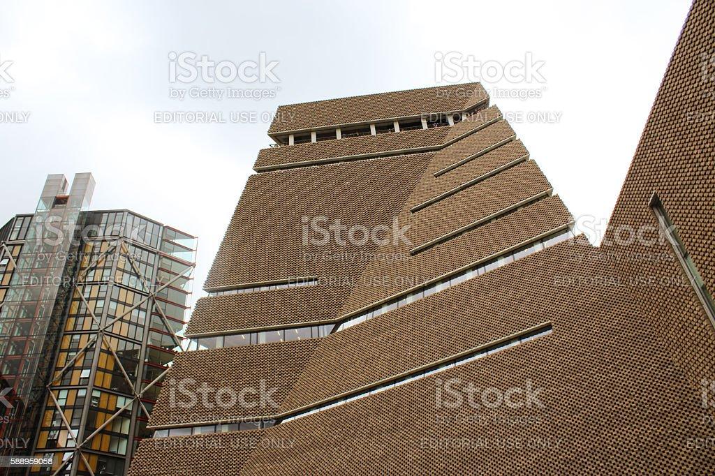 Tate Modern Extension stock photo