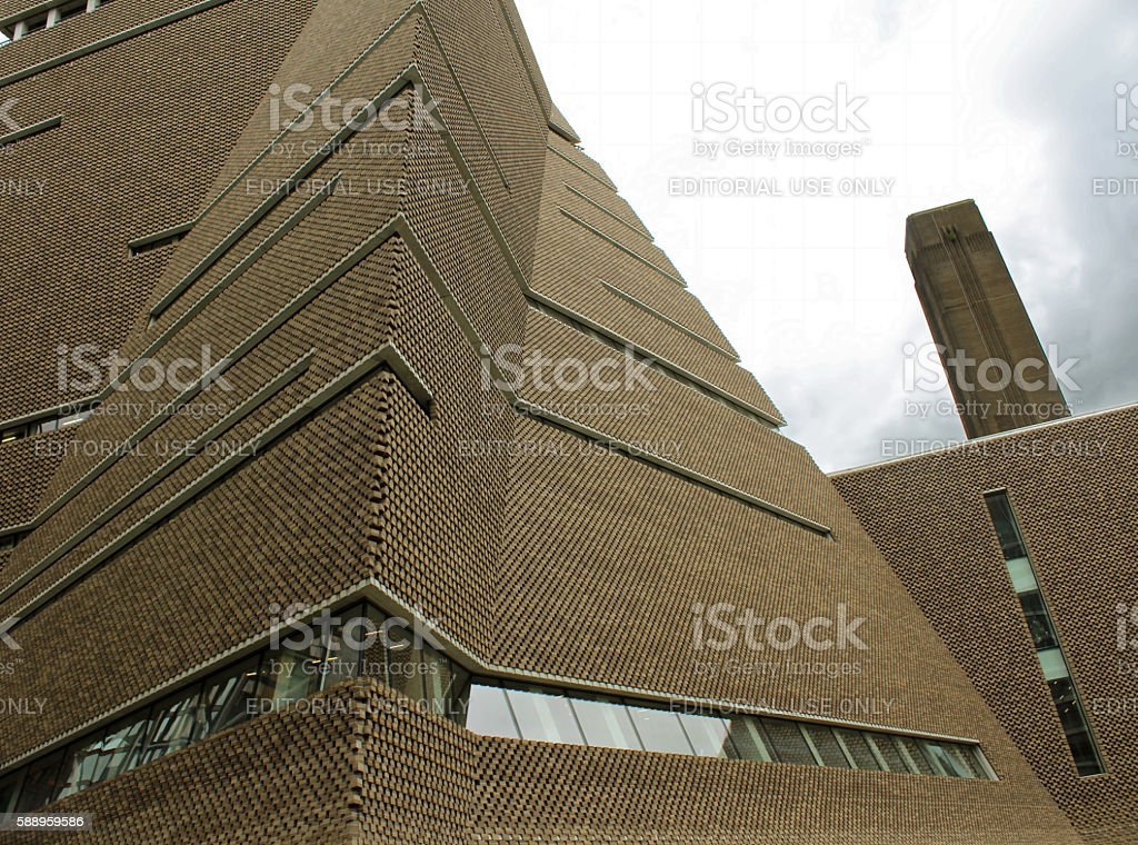Tate Modern Extension stock photo