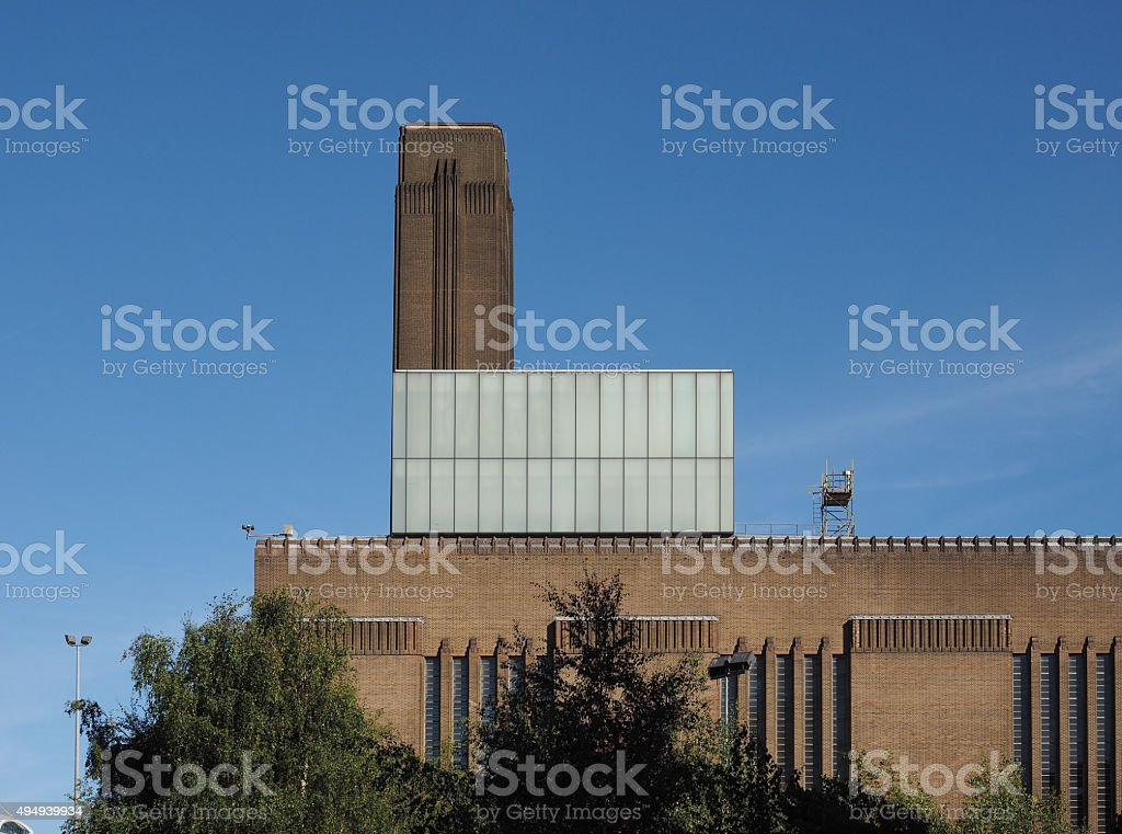 Tate Modern in London stock photo