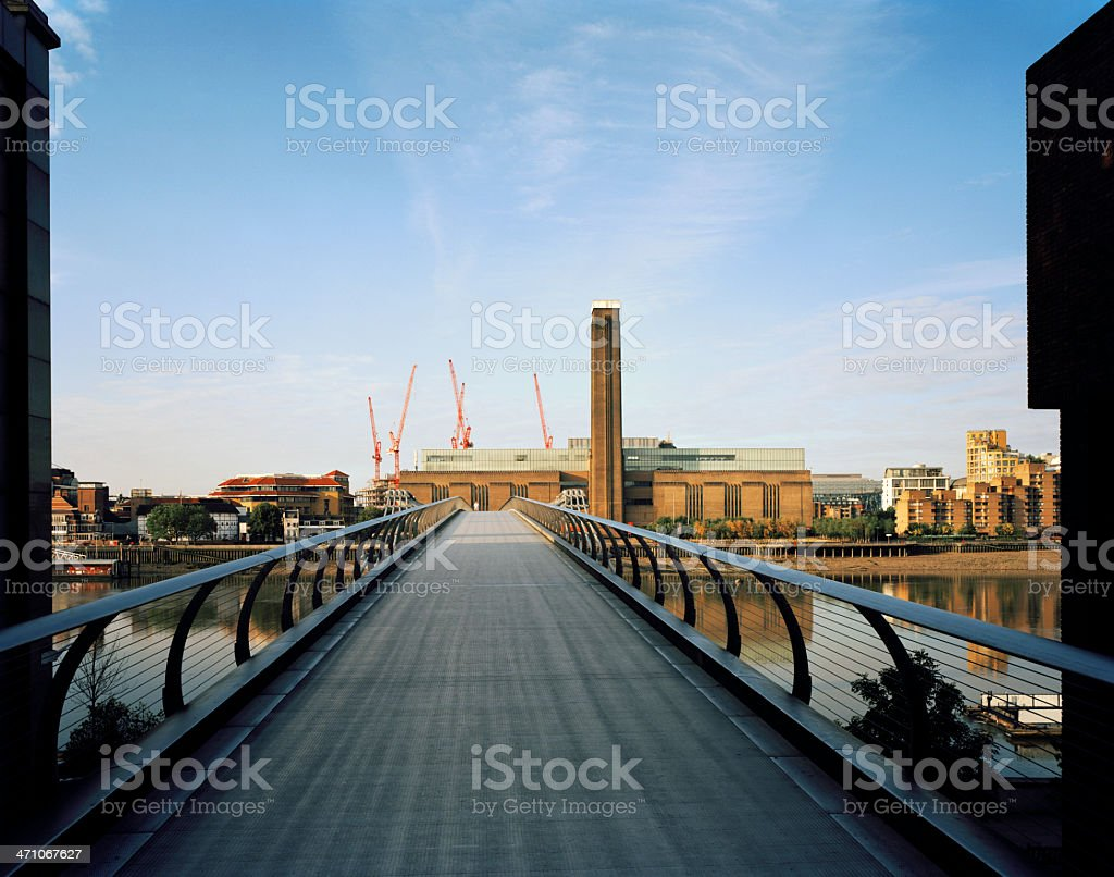 Tate Modern, London royalty-free stock photo
