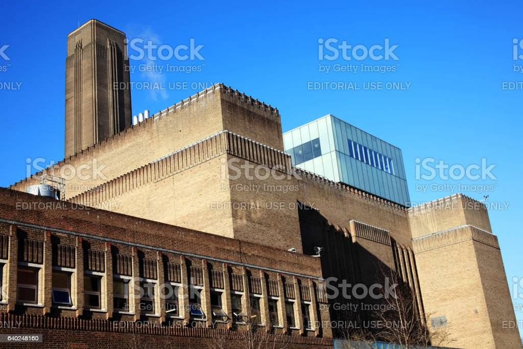 Tate Modern stock photo