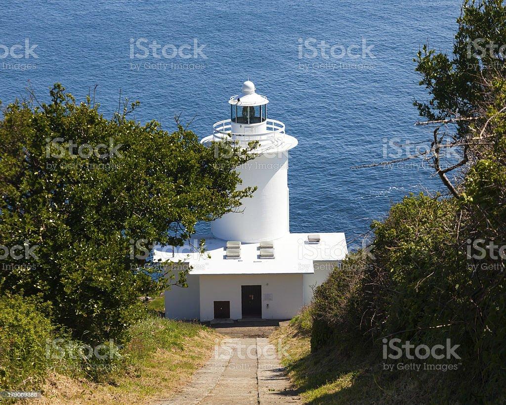 Galettes Du phare Cornwall photo libre de droits