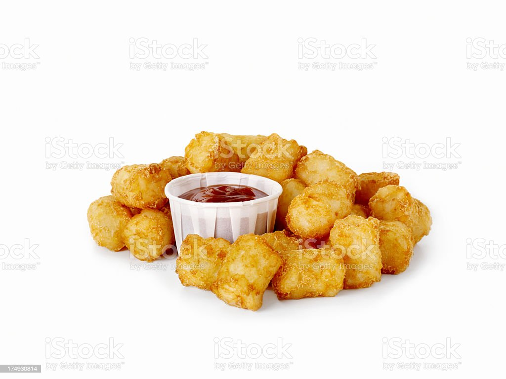 Tater Tots royalty-free stock photo