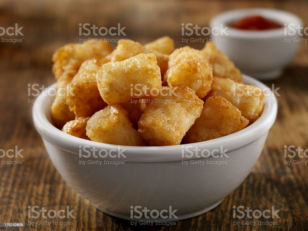 Tater Tots stock photo