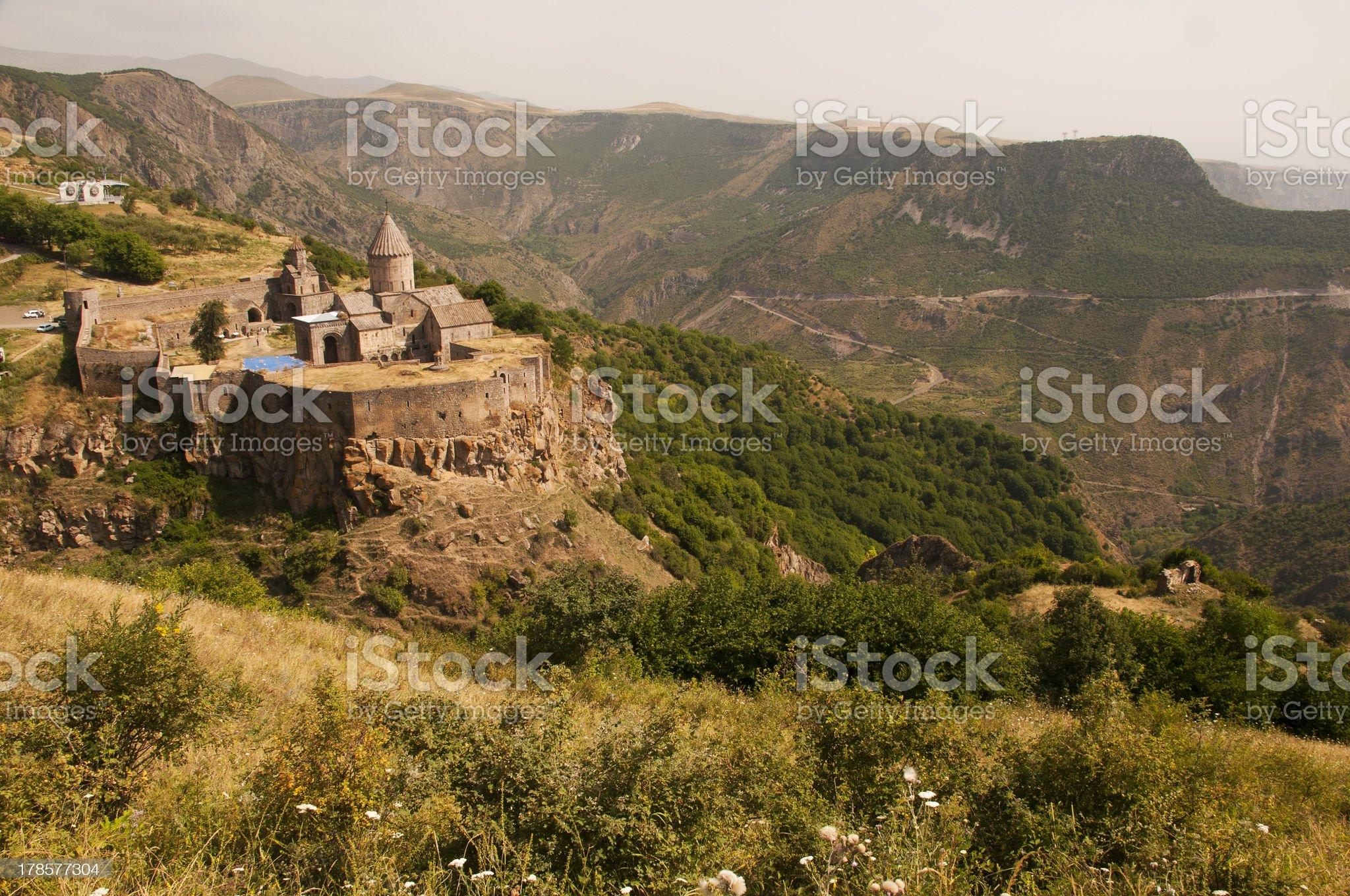 Tatev Monastery, Armenia royalty-free stock photo