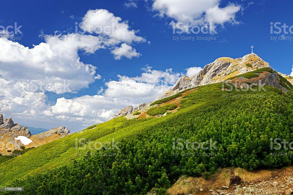 Tatra mountain stock photo