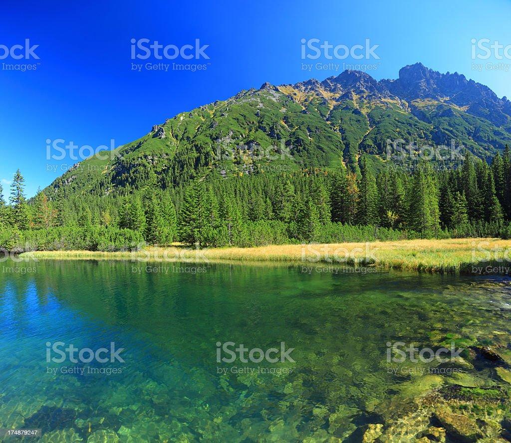 Tatra Mountains Landscape - 36 Mpx royalty-free stock photo