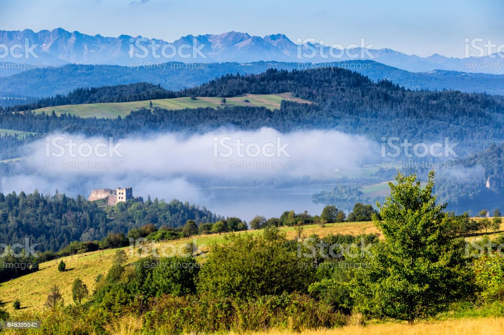 Tatra Mountains landscape stock photo