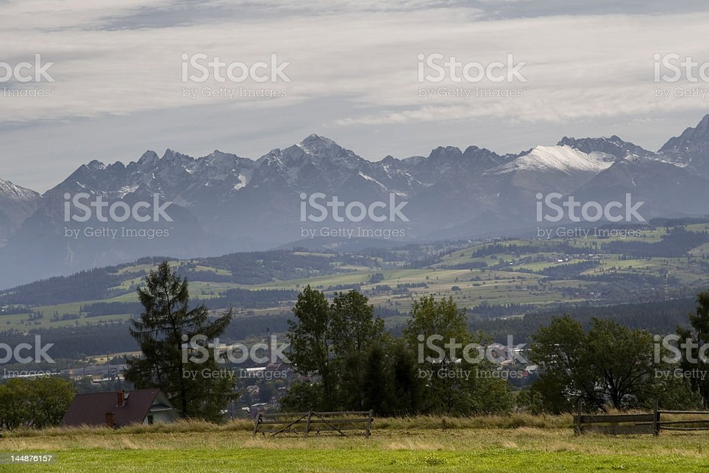 Tatra Mountains royalty-free stock photo