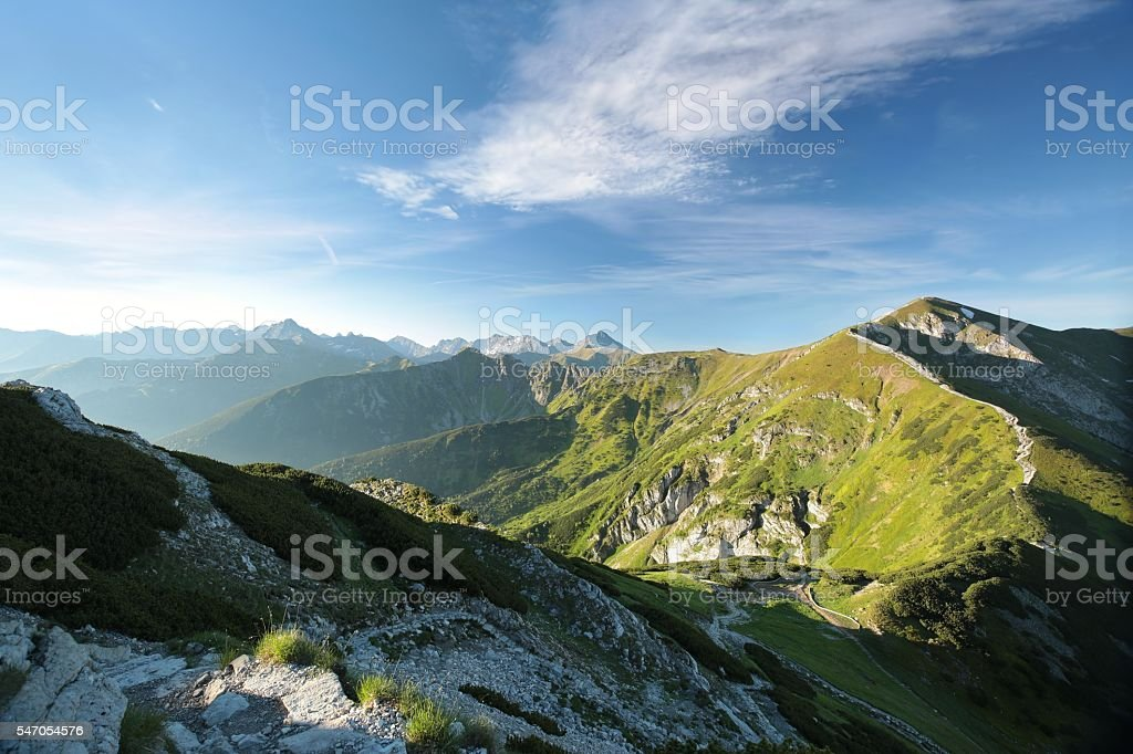 Tatra Mountains stock photo