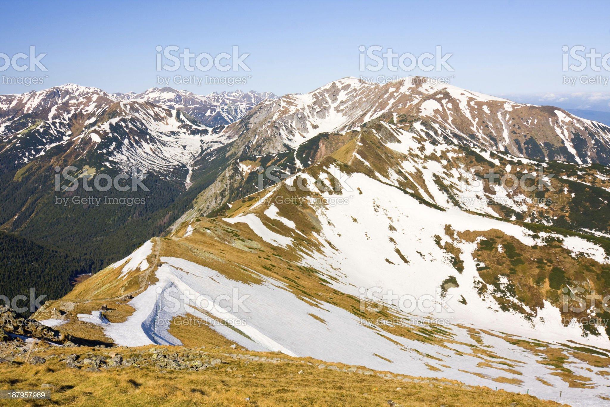 Tatra Mountains, Poland royalty-free stock photo