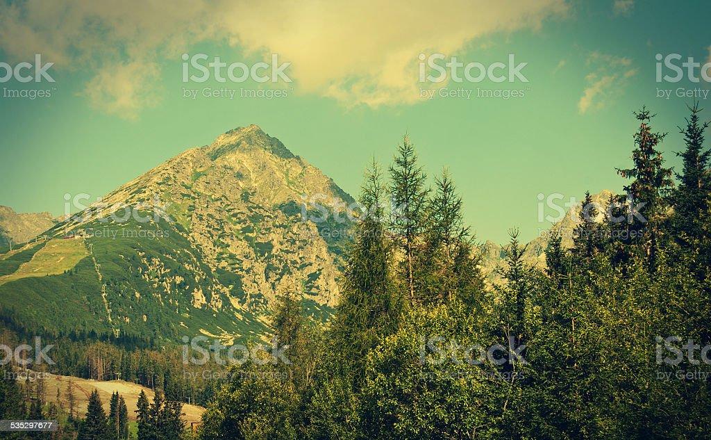 Tatra foto de stock libre de derechos
