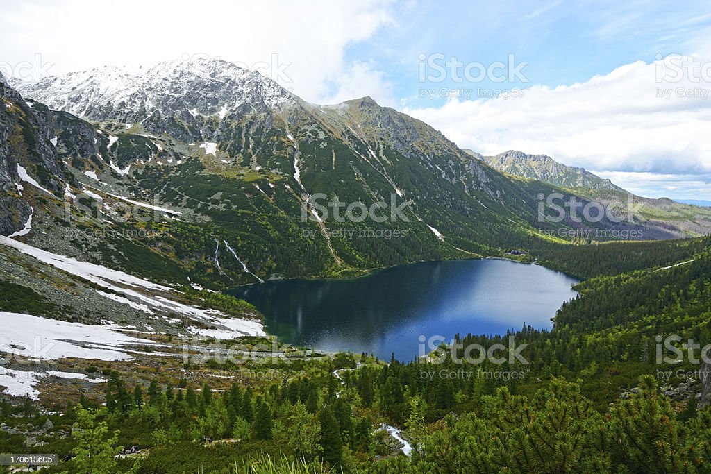 Tatras stock photo