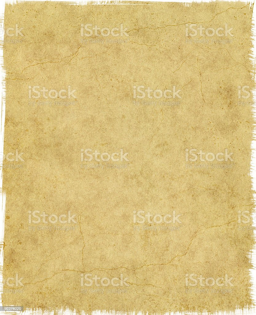 Tattered Edge Paper royalty-free stock photo