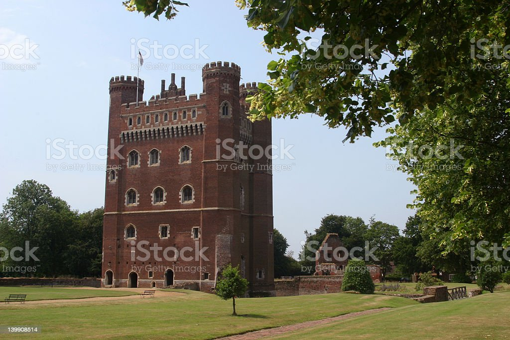Tattershall Castle stock photo