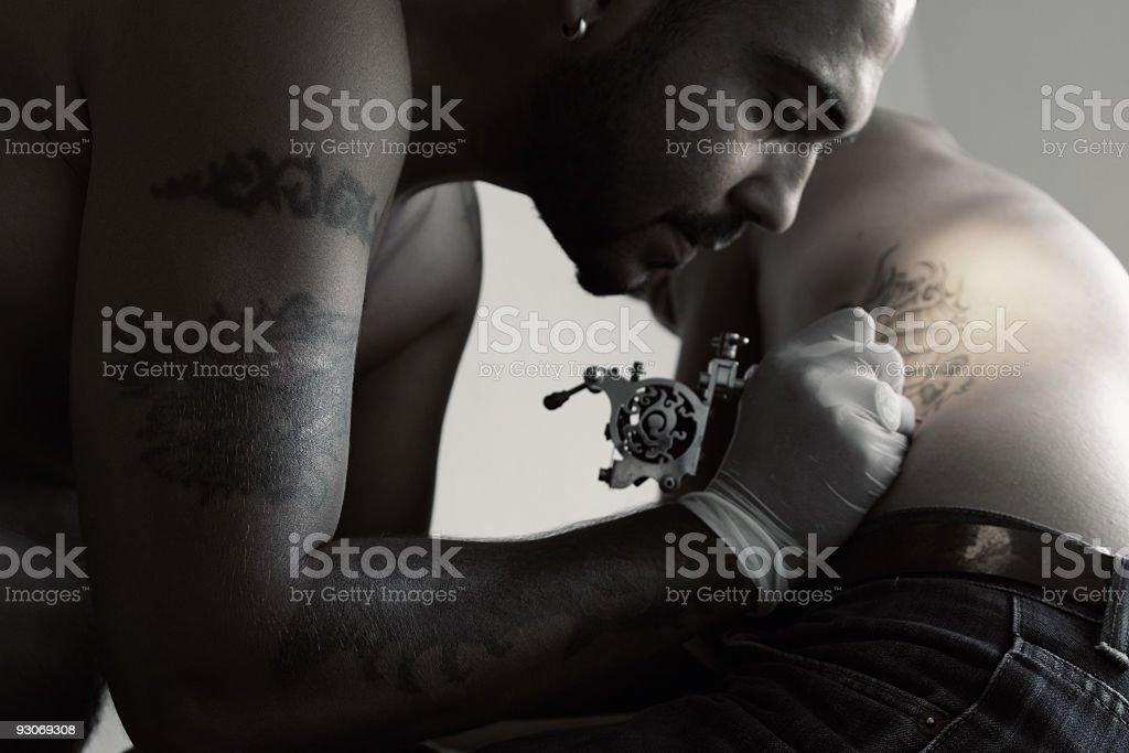 Tattoo Art royalty-free stock photo