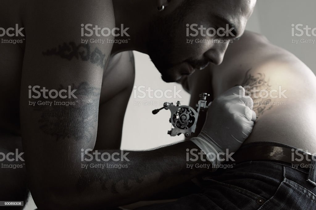 Tattoo Art stock photo
