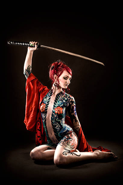 Tattoo Stock Photos: Naked Tattooed Women Pictures, Images And Stock Photos