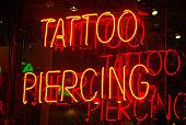Tattoo parlor sign