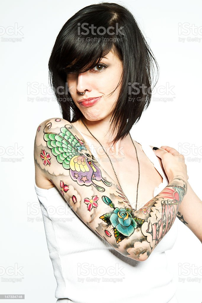 Tattoo stock photo