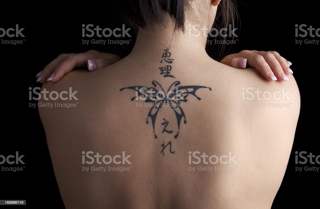 Tattoo... royalty-free stock photo