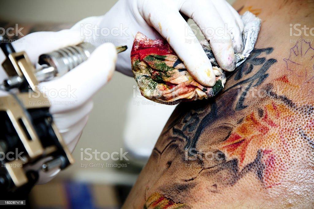 Tattoo royalty-free stock photo