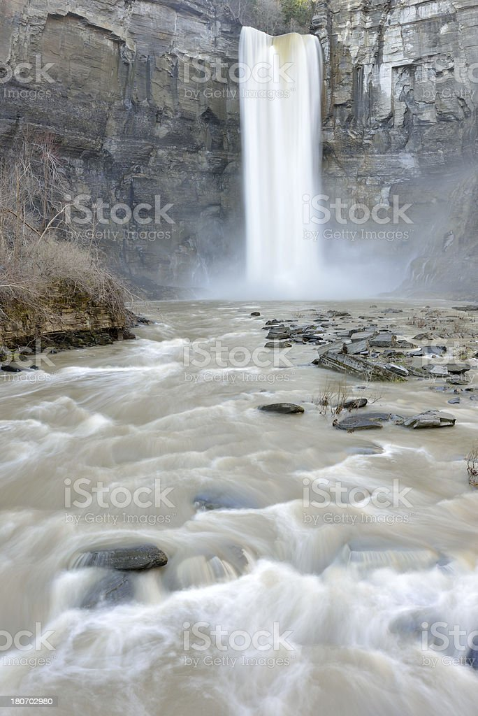 Taughannock Falls royalty-free stock photo