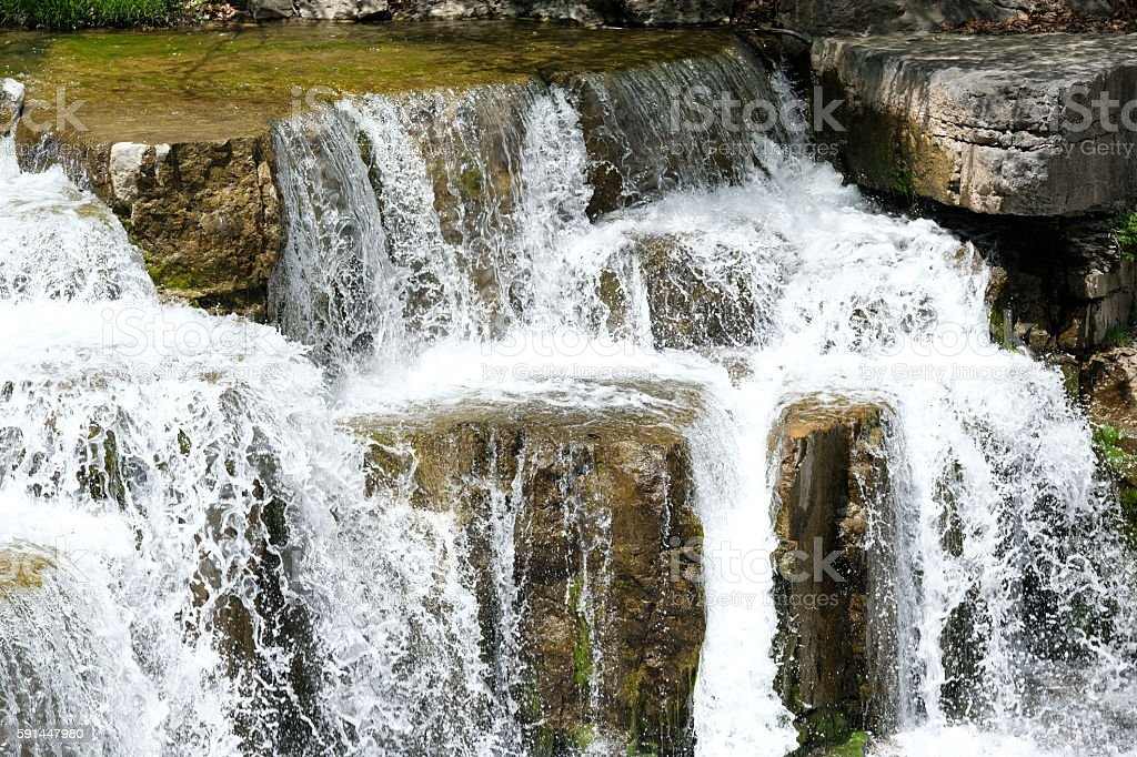 Taughannock Falls State Park stock photo