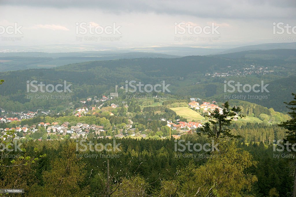 Taunus mountains, Germany royalty-free stock photo
