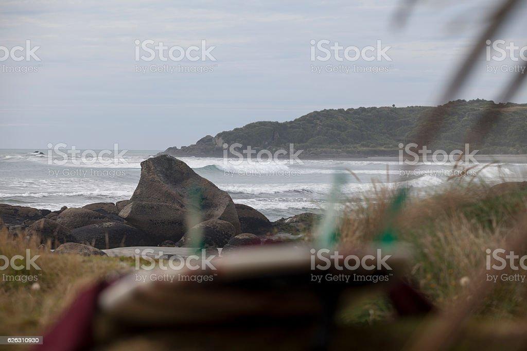 Tauranga Bay, NZ stock photo
