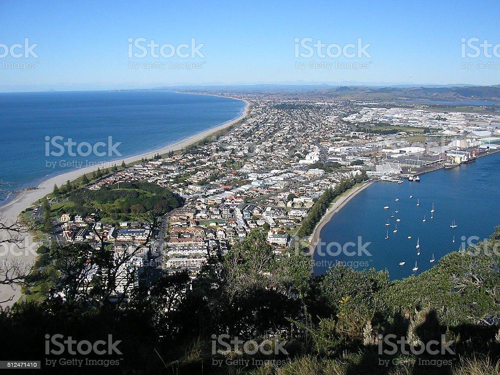 Tauranga, New Zealand stock photo