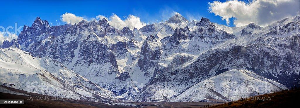 Taurus mountains at Sounth Anatolia / Turkey stock photo