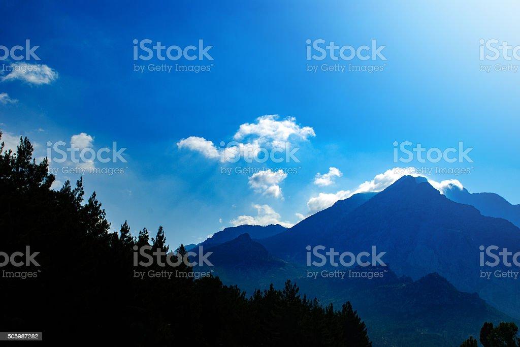 Taurus Mountains stock photo