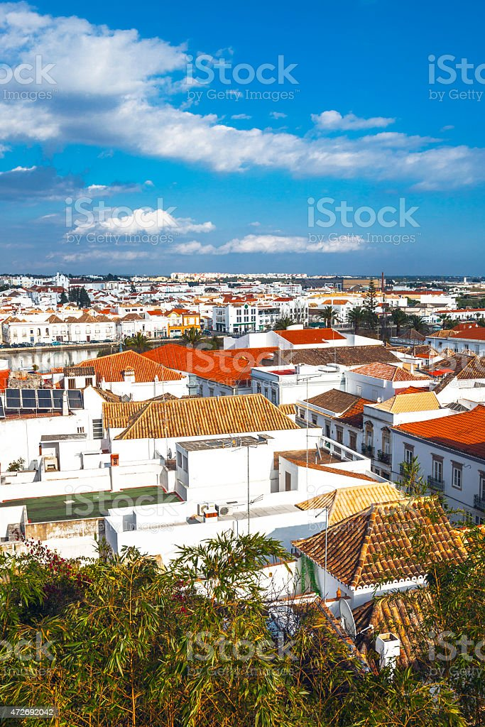 Tavira, Algarve. stock photo