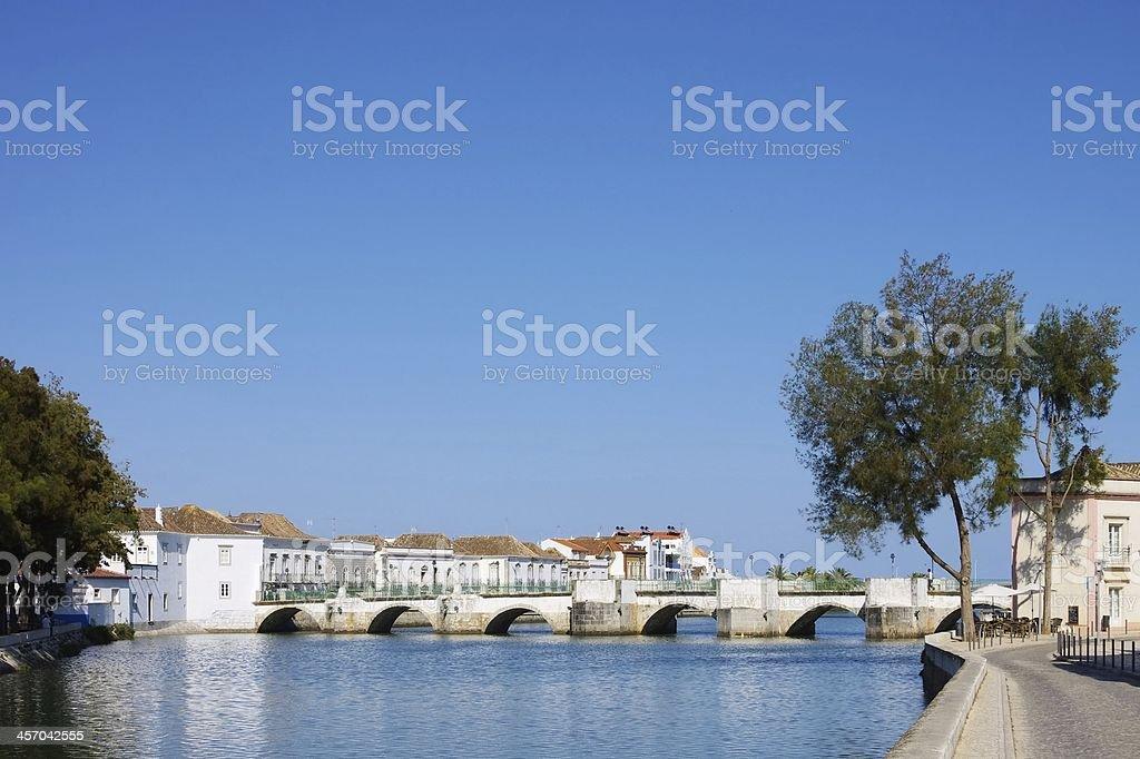 Tavira bridge royalty-free stock photo