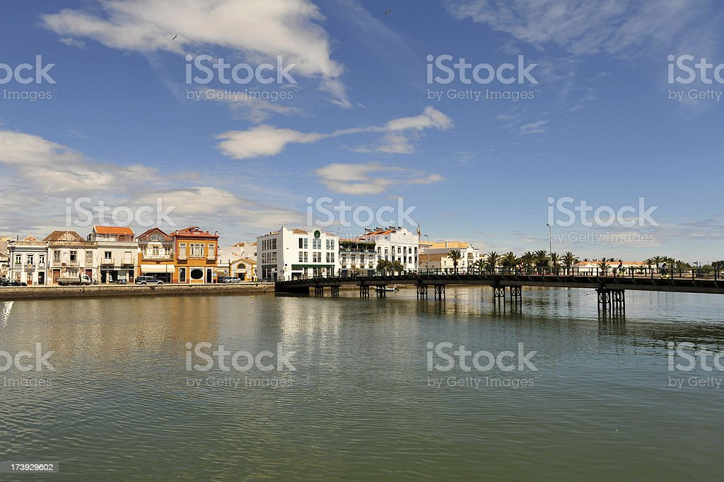 Tavira, eastern Algave, Portugal. stock photo