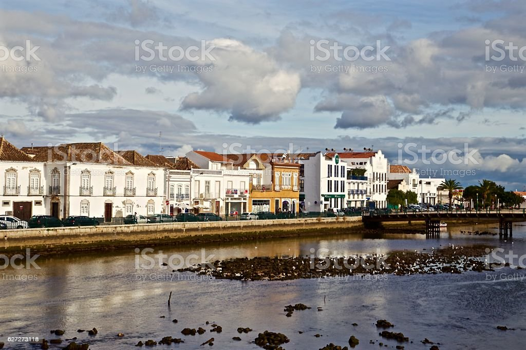 Tavira, Portugal stock photo